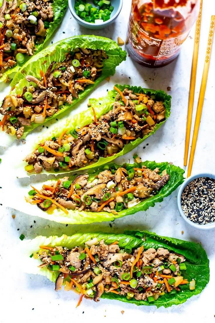 #17 PF Chang's Chicken Lettuce Wraps