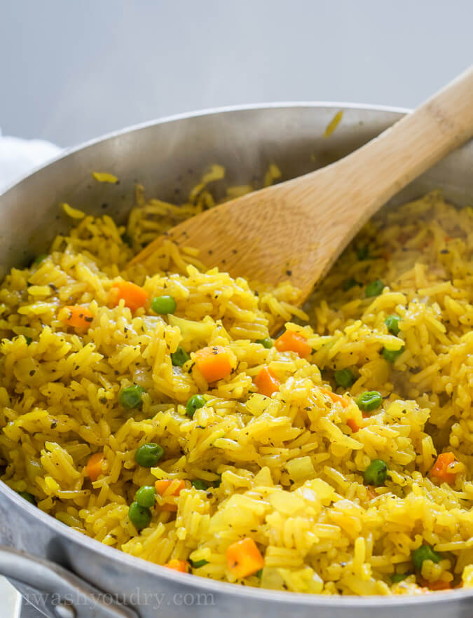 #17 Vegetable Rice Pilaf