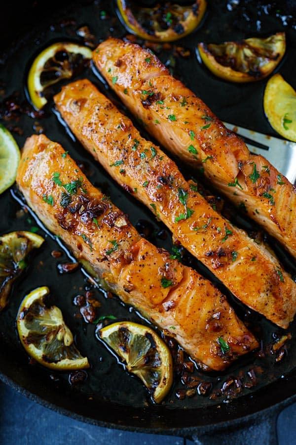 #18 Honey Garlic Salmon