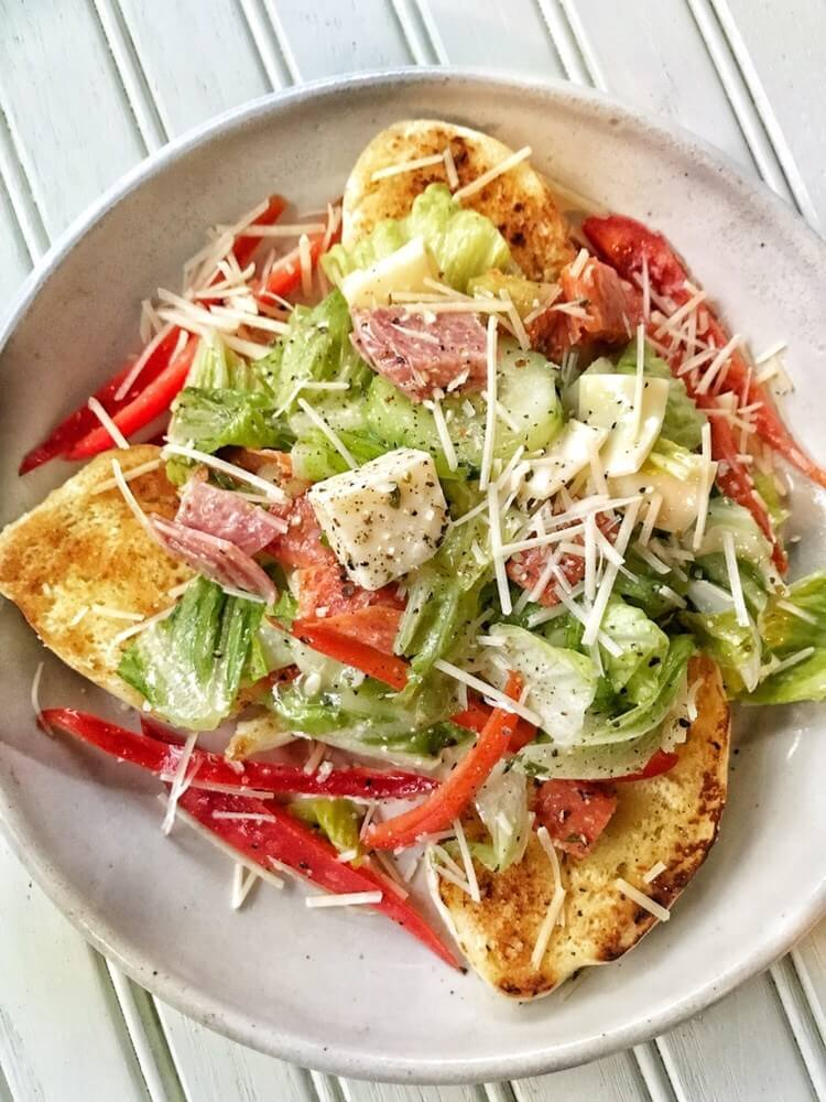 #18 Italian Sub Salad