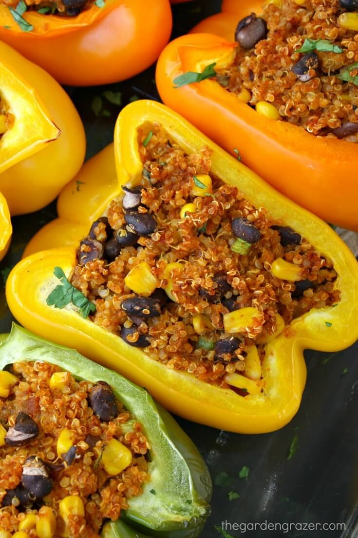 #18 Mexican Quinoa Stuffed Peppers
