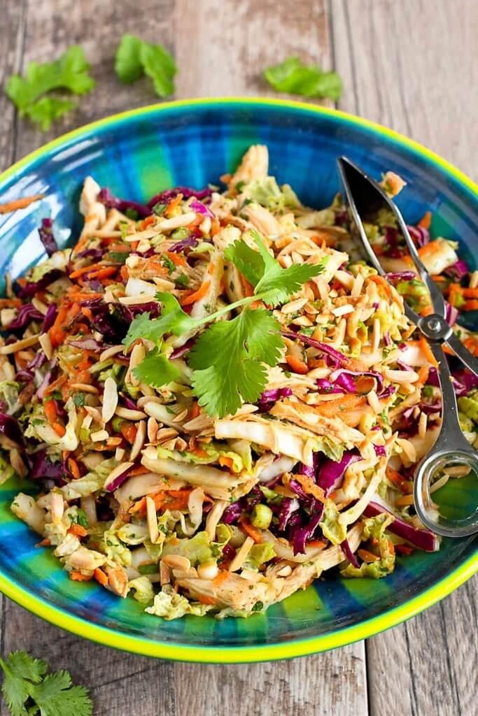 #18 Thai Chicken Slaw Salad