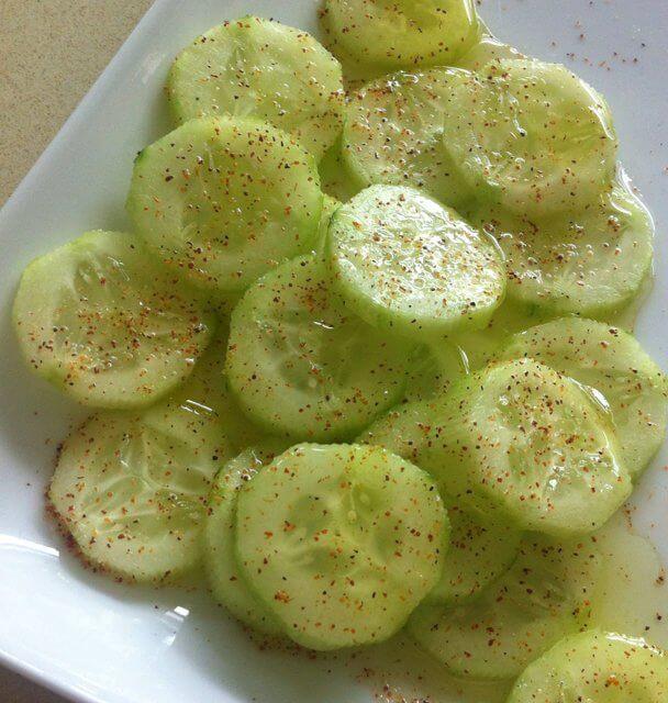 18. Cucumber Delite