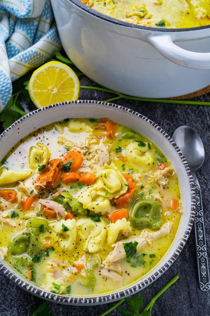 #19 Chicken Tortellini Soup
