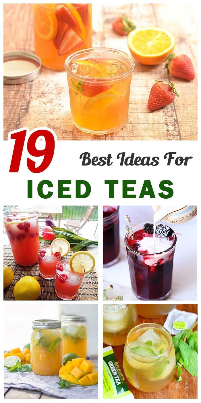19 Iced Teas To Beat The Heat Of Summer