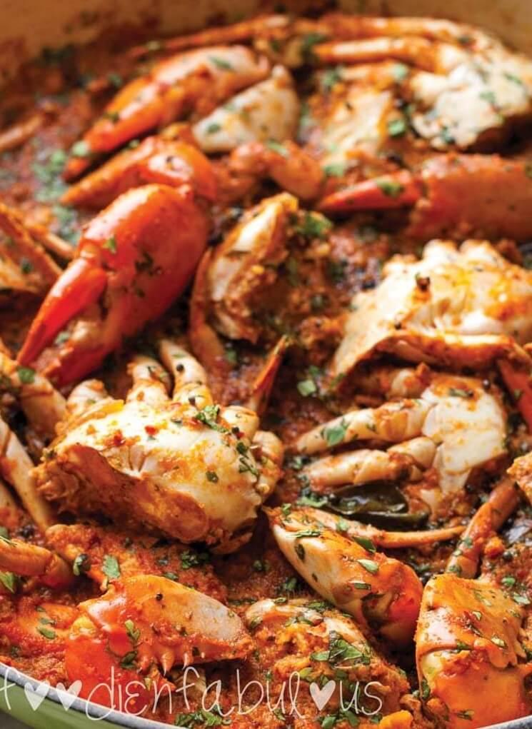 #19 Mangalore-Style Crab Sukka