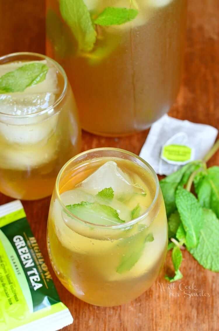 19. Honey Green Iced Tea