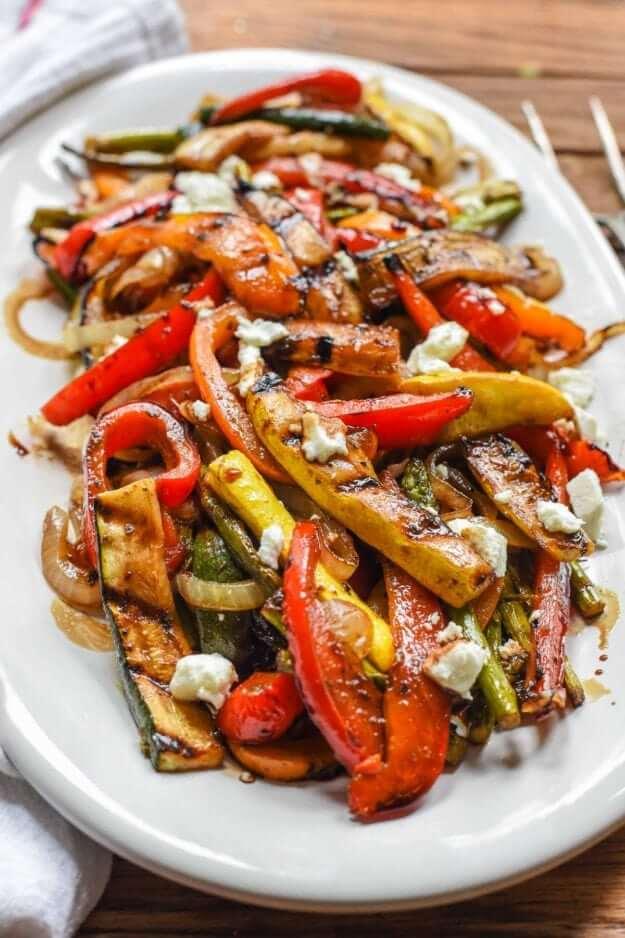 2 Balsamic Grilled Vegetables