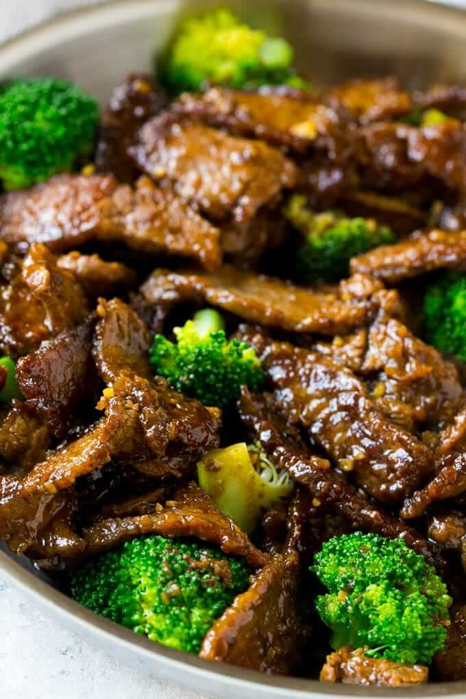 #2 Beef and Broccoli Stir Fry