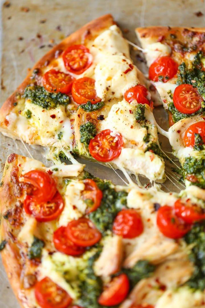 #2 Chicken Pesto Pizza