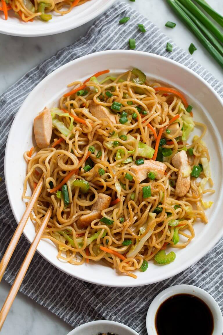 #2 Chow Mein