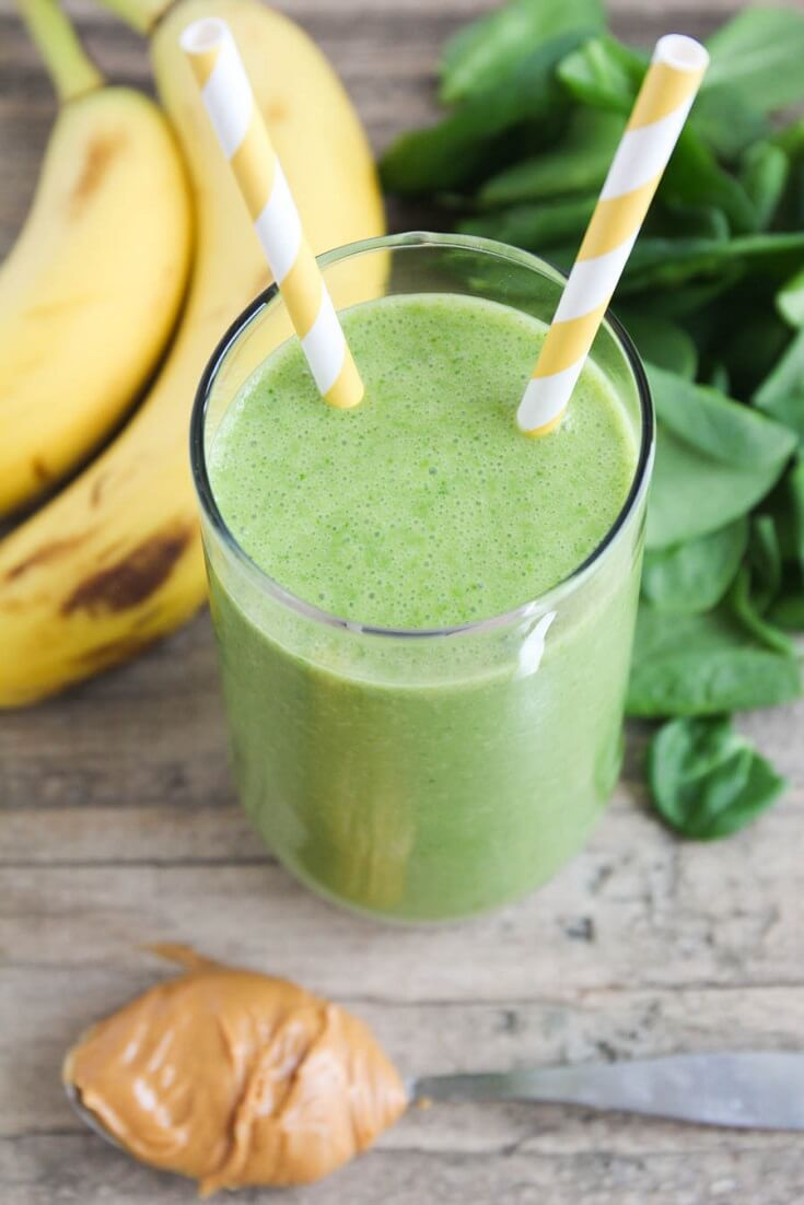 #2 Green Breakfast Smoothie