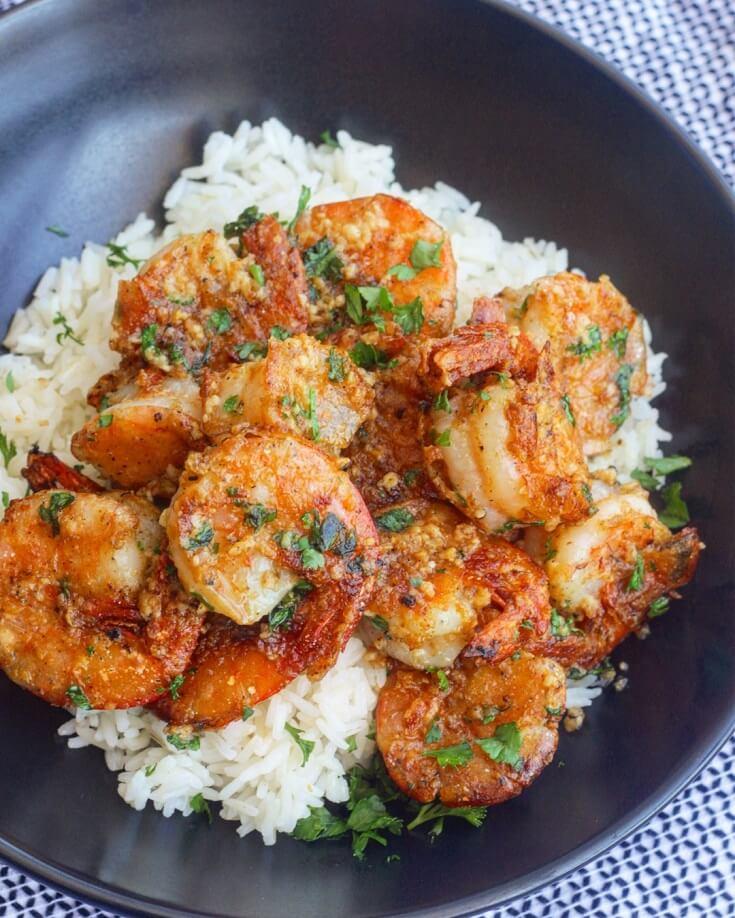 #2 Hawaiian Garlic Shrimp