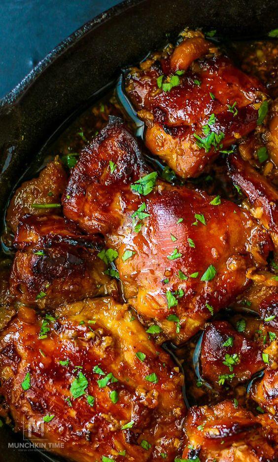 2 Honey Soy Chicken Thighs