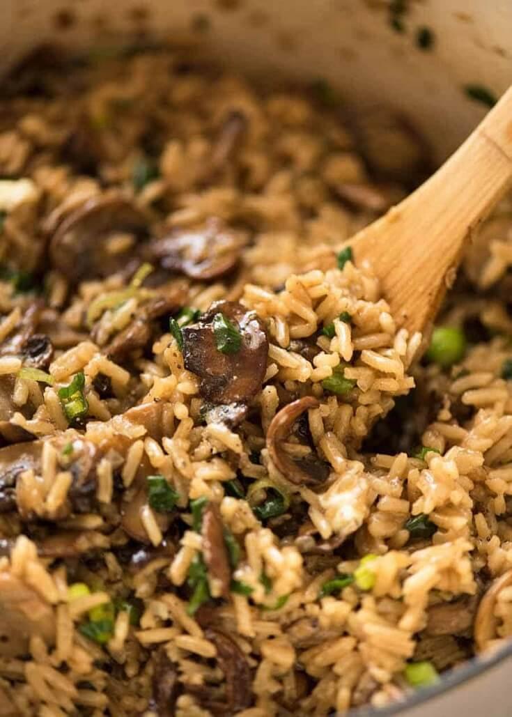 #2 Mushroom Rice rv