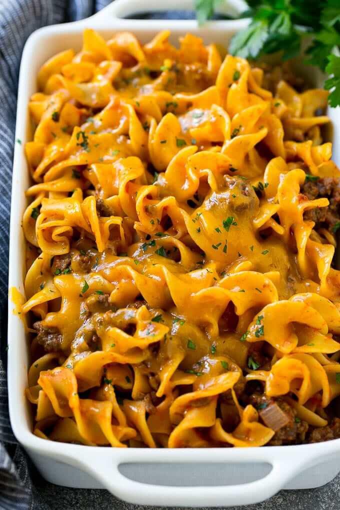 #2 Noodle Beef Casserole