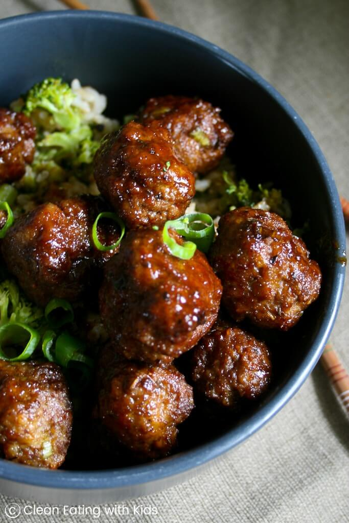 #2 Sweet & Sticky Teriyaki Meatballs