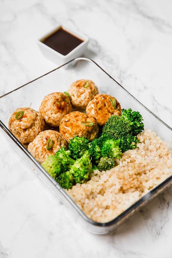 #2 Teriyaki Chicken Meatballs