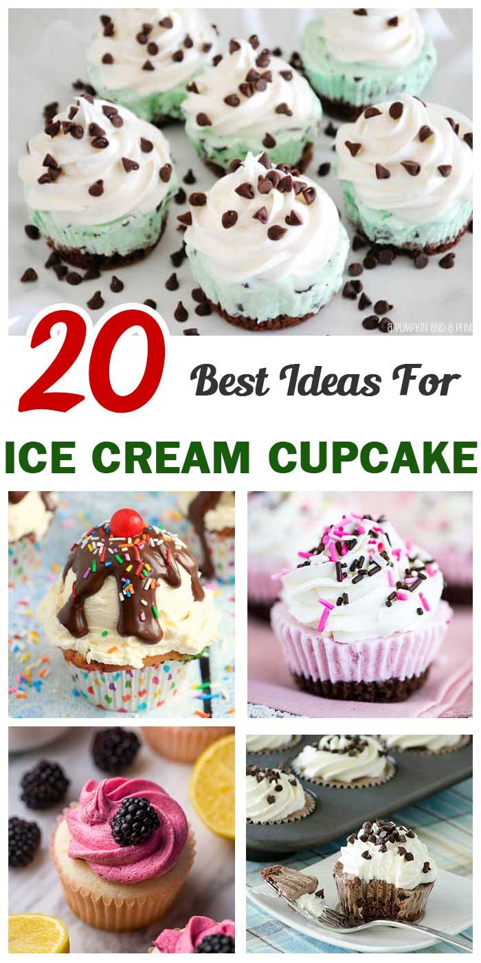 20 Best Ice Cream Cupcake Ideas For Birthday Parties
