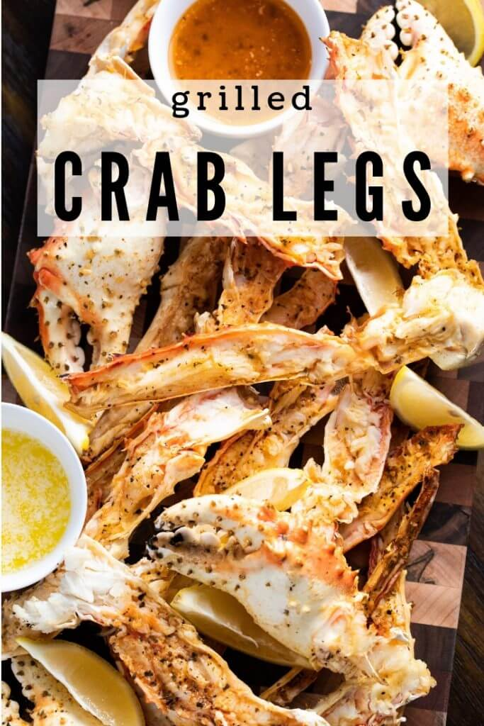 #20 Grilled Crab Legs
