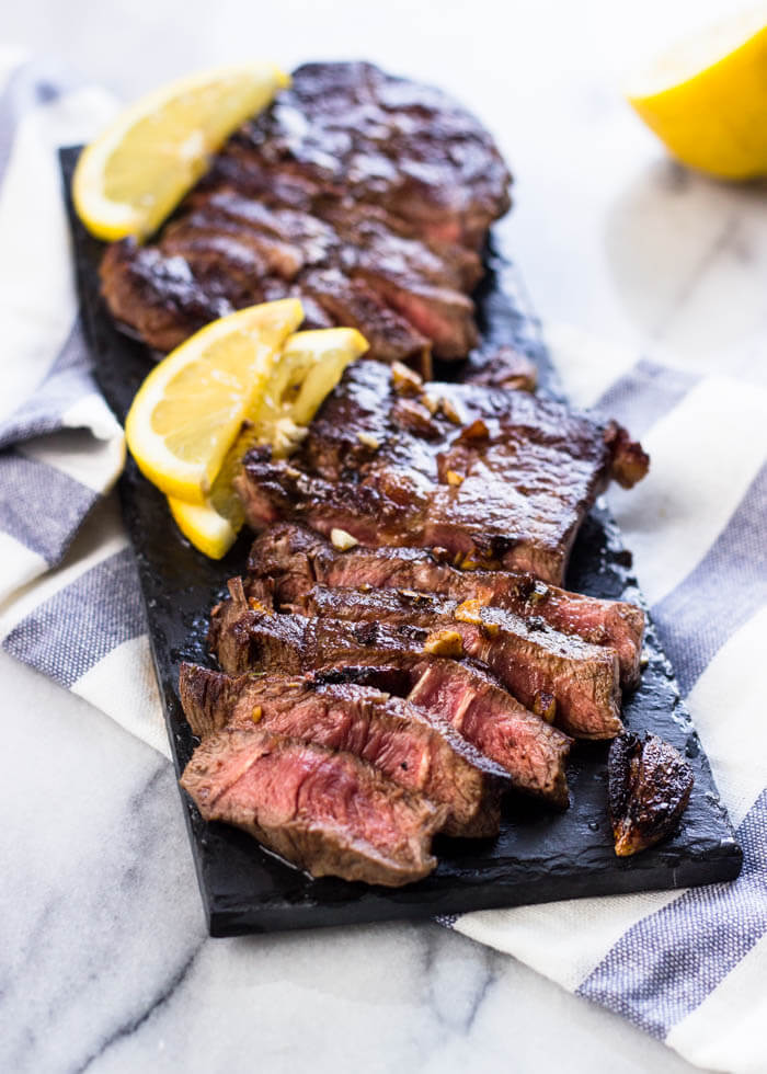 #20 Lemon Garlic Steak