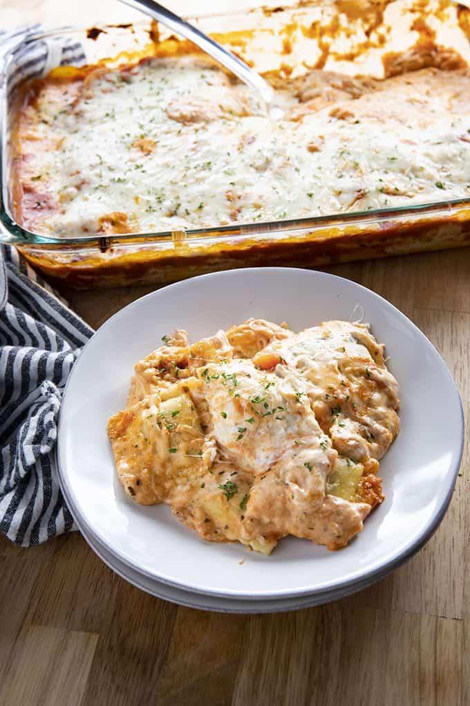 #20 Million Dollar Ravioli Lasagna