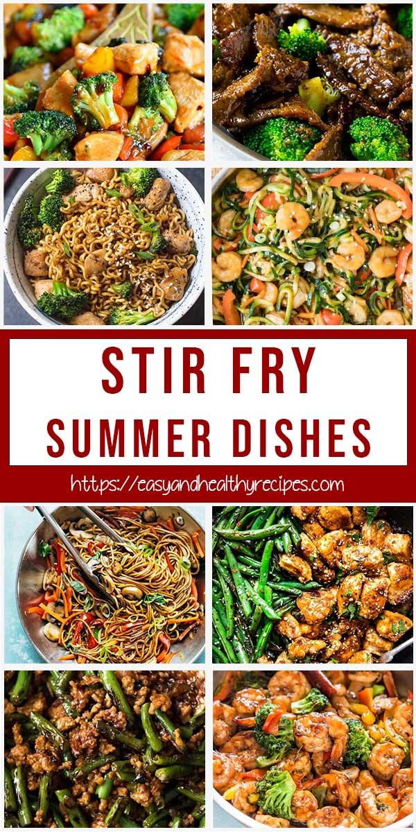 20+ Stir Fry Summer Dishes