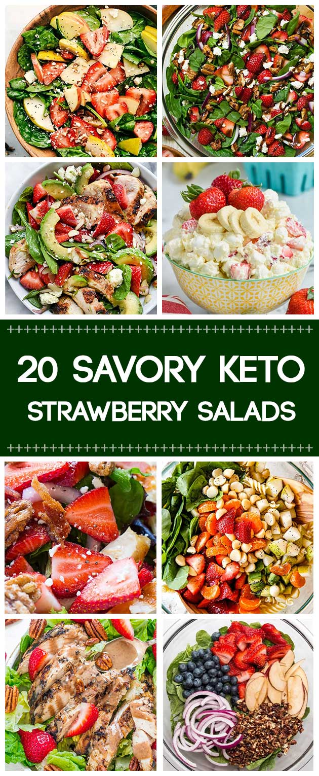 20 Strawberry Salads That Keep You Hooked