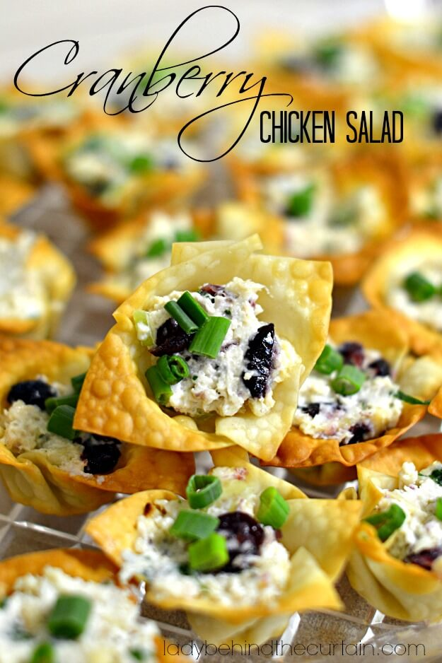 20. Cranberry Chicken Salad
