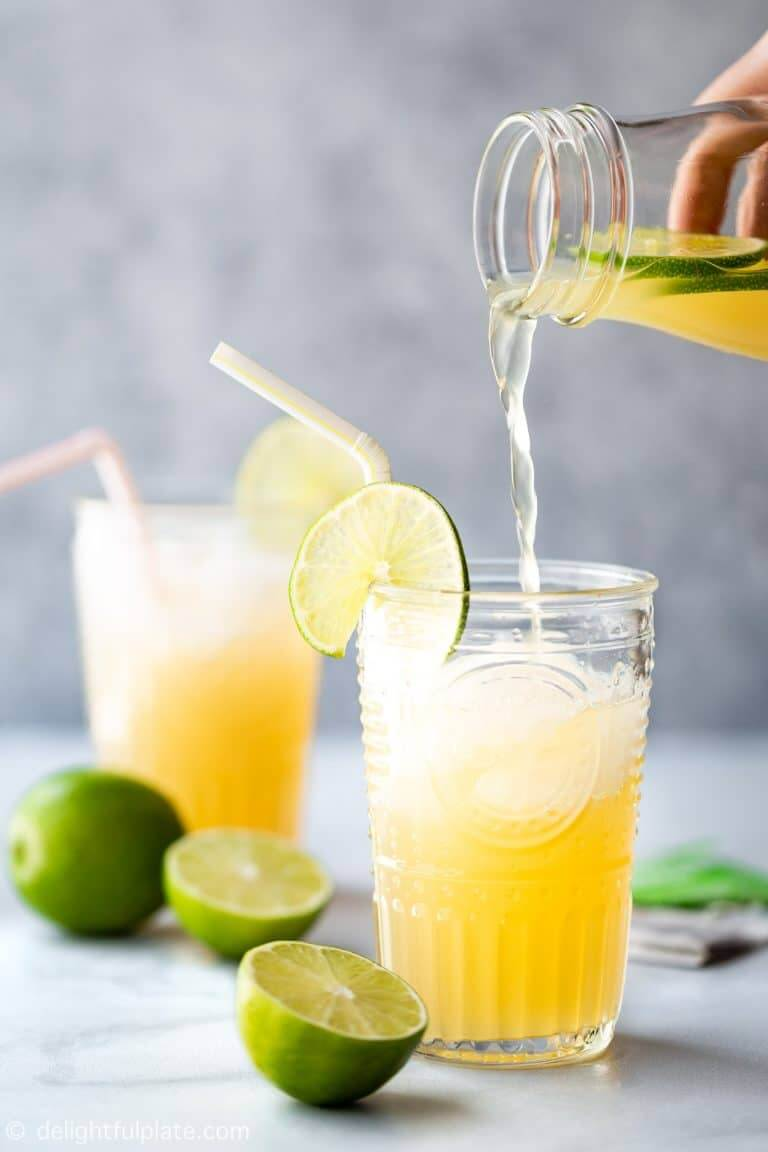 20. Vietnamese Lime Iced Tea
