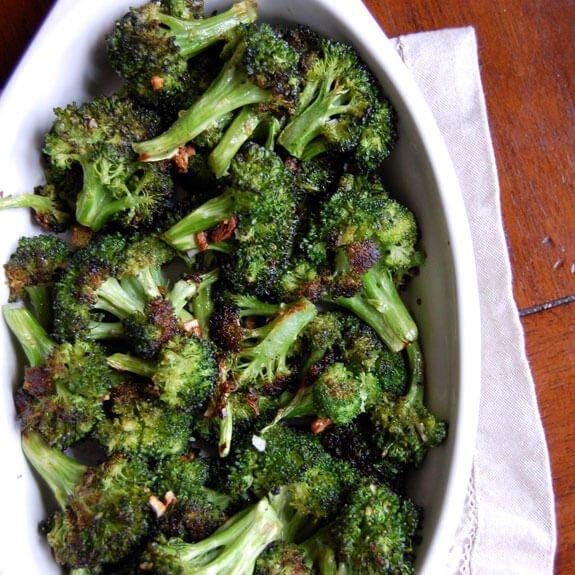 #21 Garlic and Black Pepper Broccoli
