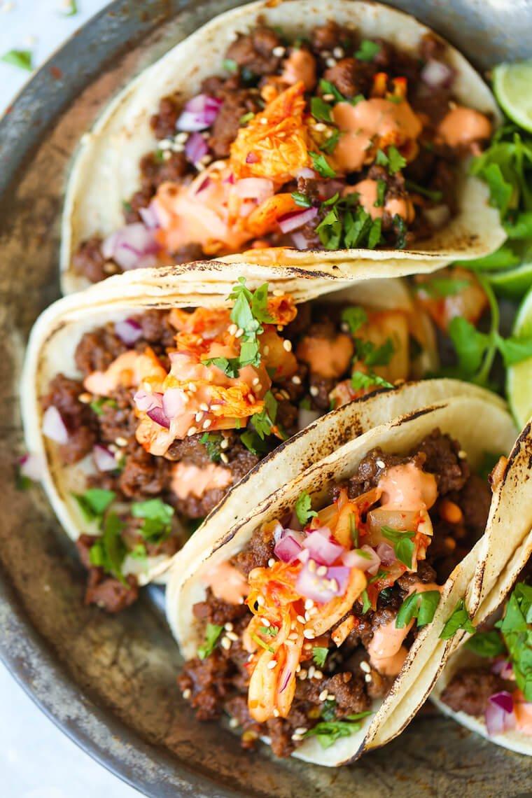 #21 Korean Beef Tacos