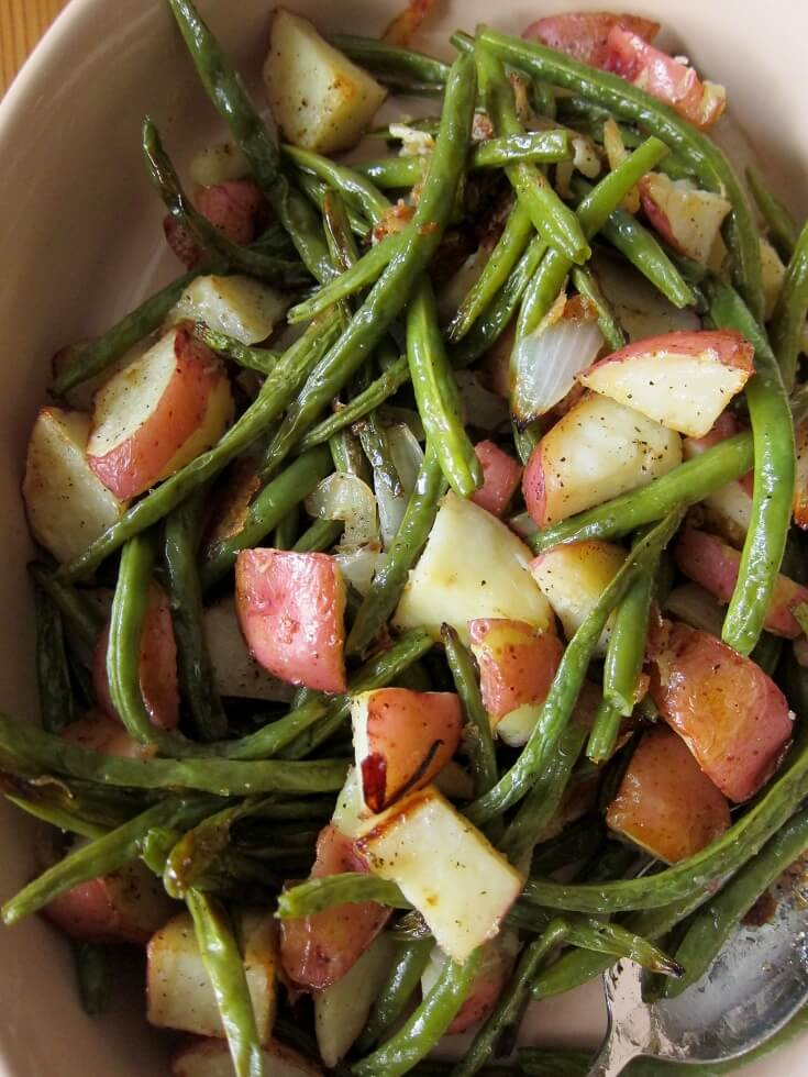 #21 Oven Roasted Green Beans and Potatoes rv
