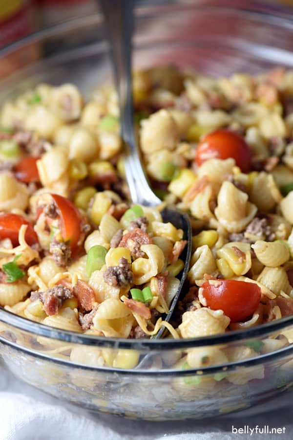 #22 Cowboy Pasta Salad