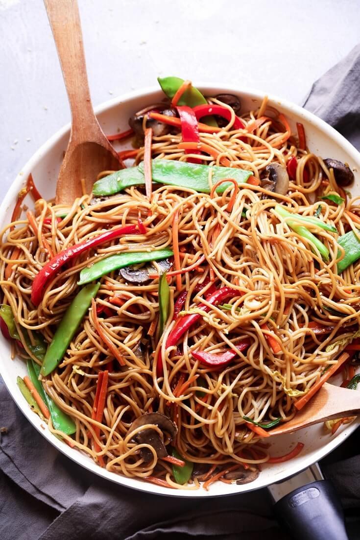 #22 Teriyaki Noodle Stir Fry