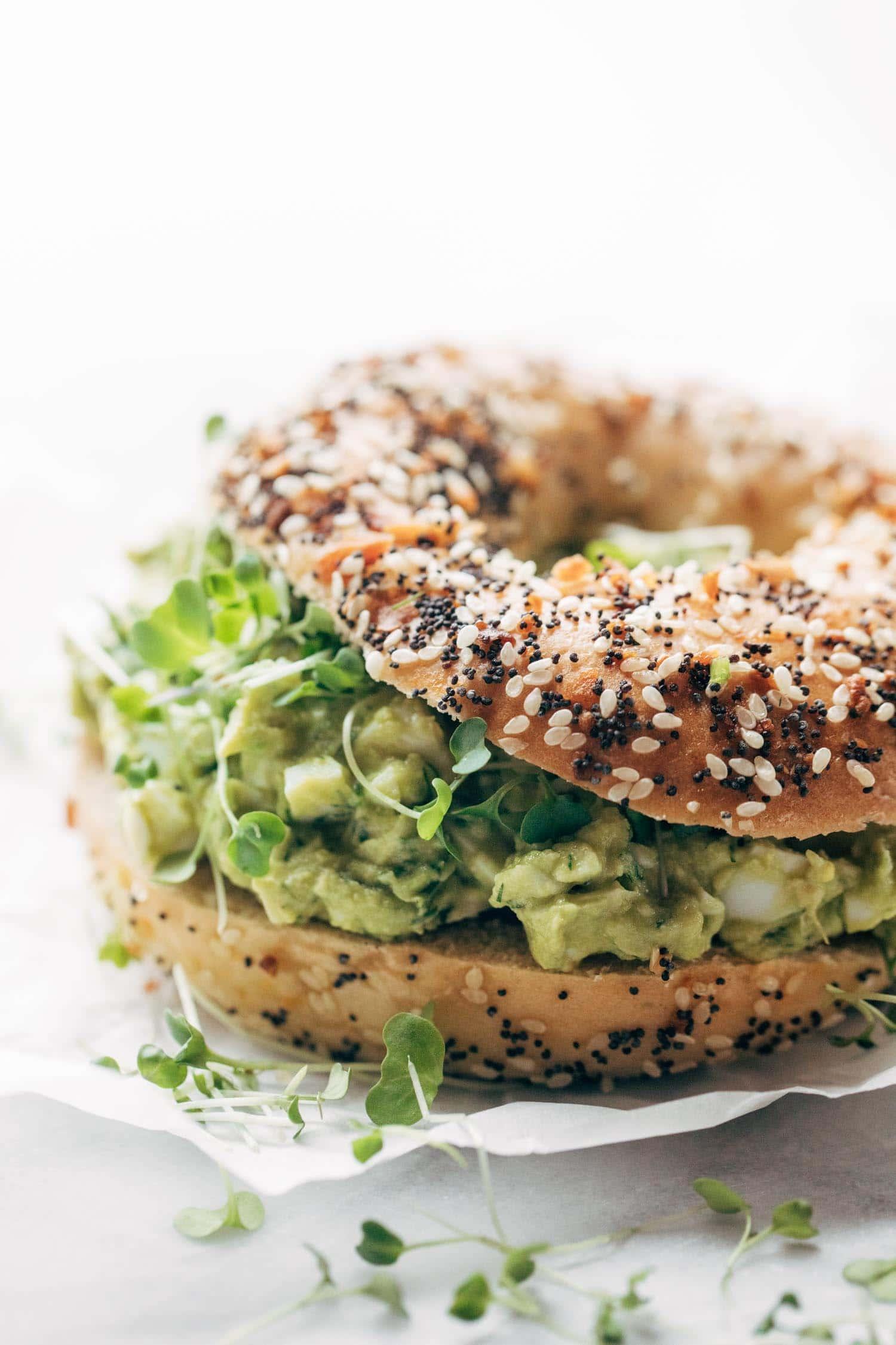 22. Avocado Egg Salad
