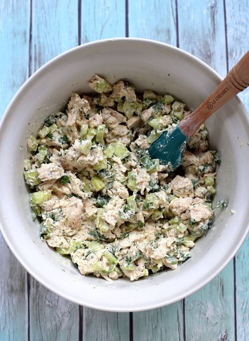 22. Cucumber Dill Greek Yogurt Rotisserie Chicken Salad