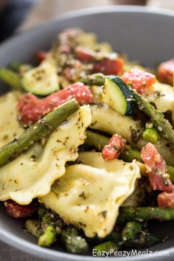 #23 Asparagus Ravioli Pasta Salad