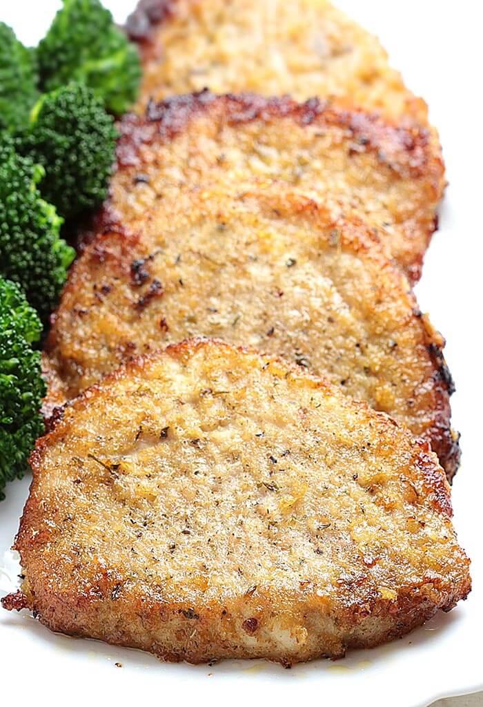 #23 Baked Garlic Parmesan Pork Chops