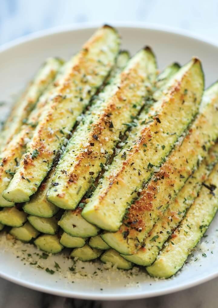 #23 Baked Parmesan Zucchini