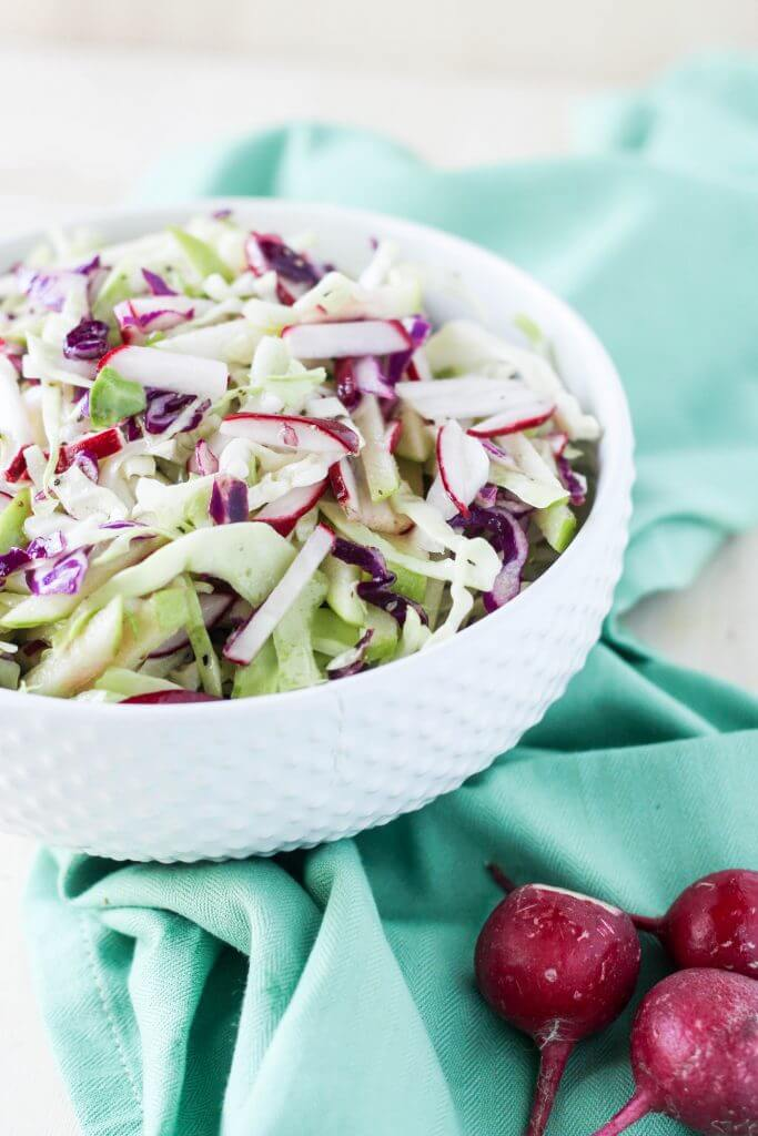 #23 Cabbage Radish and Apple Slaw