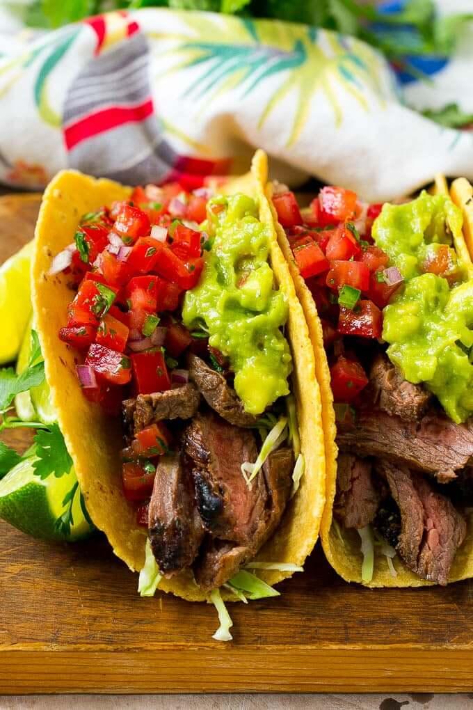 #23 Carne Asada Tacos