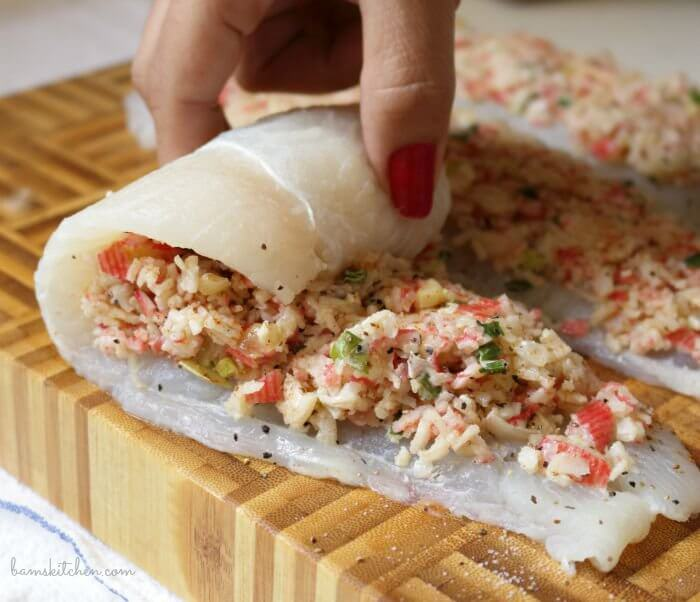 #23 Crab Stuffed Whitefish
