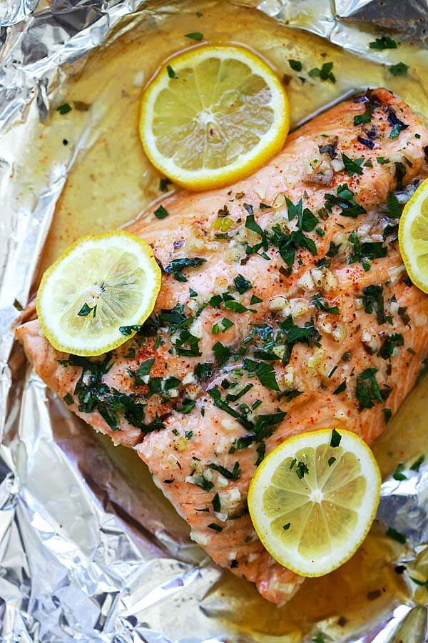 #23 Garlic Lemon Butter Salmon