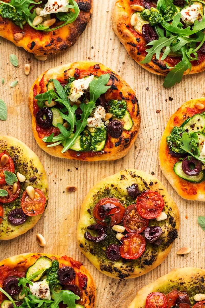 23 Vegan Mini Pizza