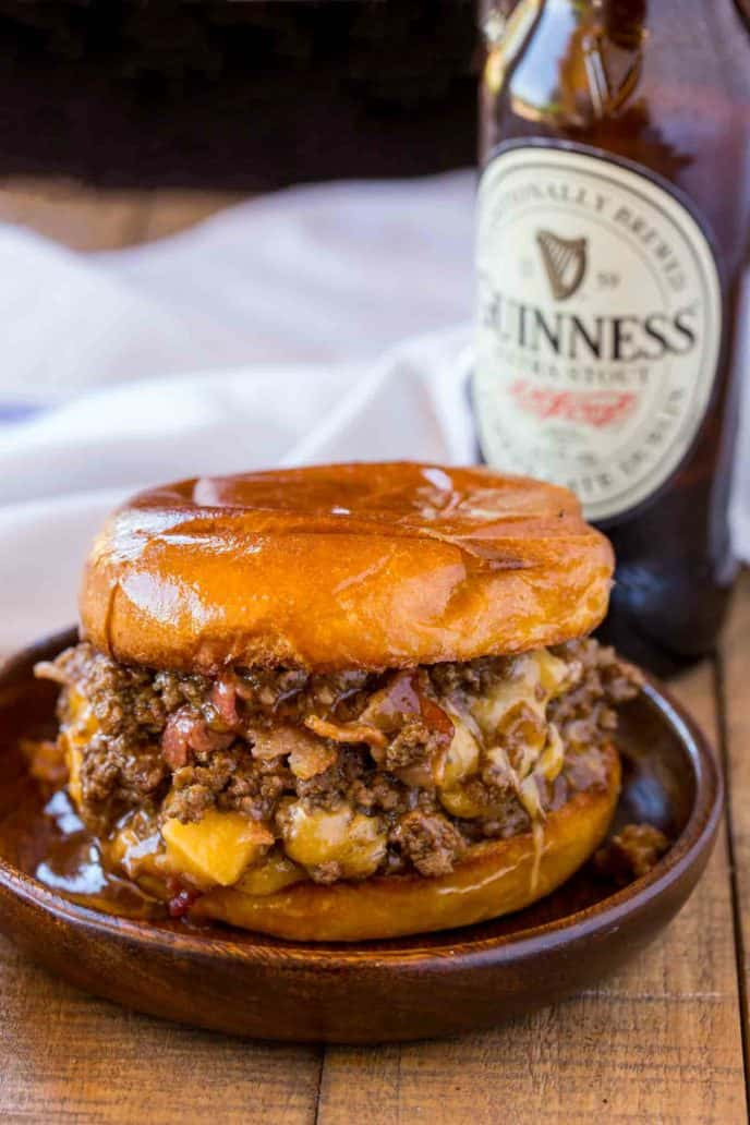 #24 Bacon, Beer and Cheese Sloppy Joes