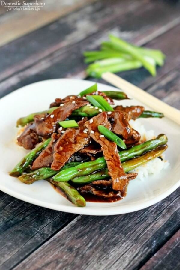 #24 Chinese Beef and Green Bean Stir Fry