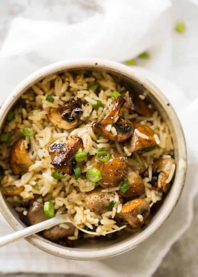 #25 Baked Mushroom Rice