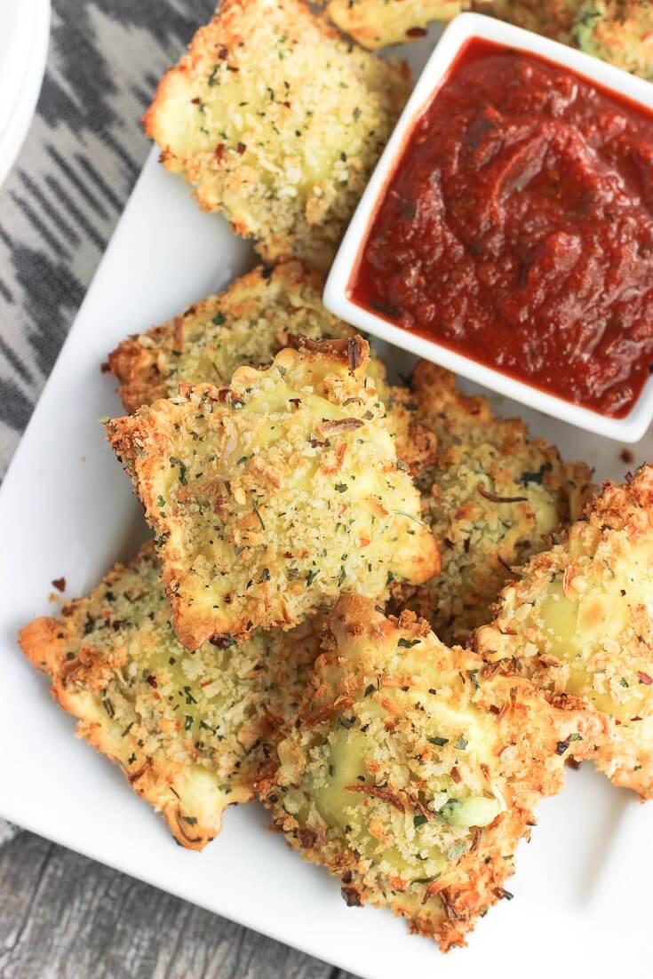 #25 Crispy and Baked Toasted Ravioli