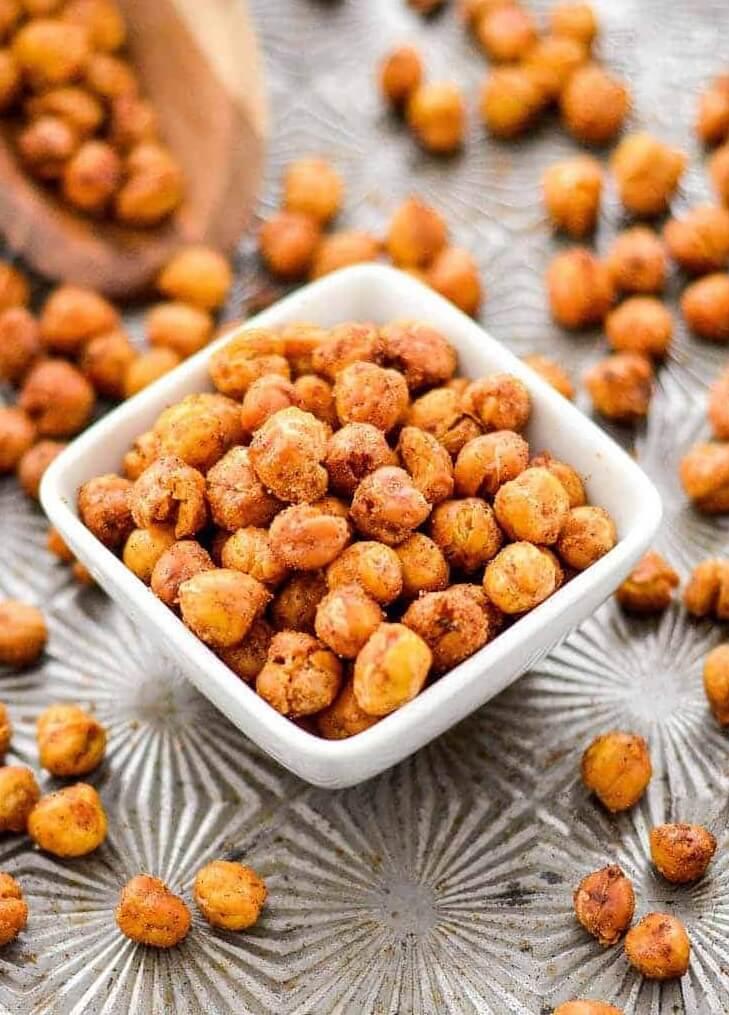 #26 Crunchy Roasted Chickpeas